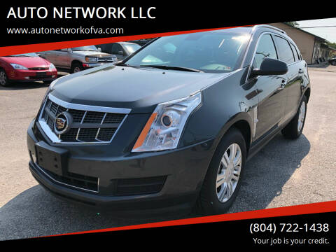2012 Cadillac SRX for sale at AUTO NETWORK LLC in Petersburg VA
