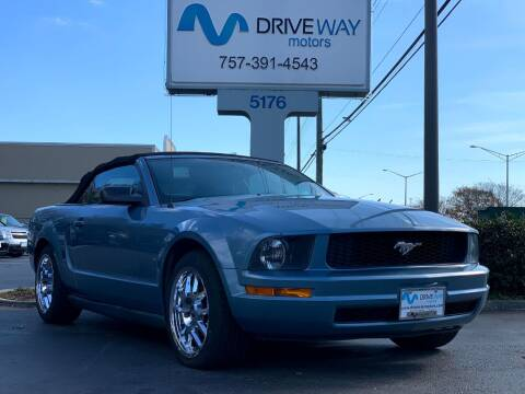 2006 Ford Mustang for sale at Driveway Motors in Virginia Beach VA