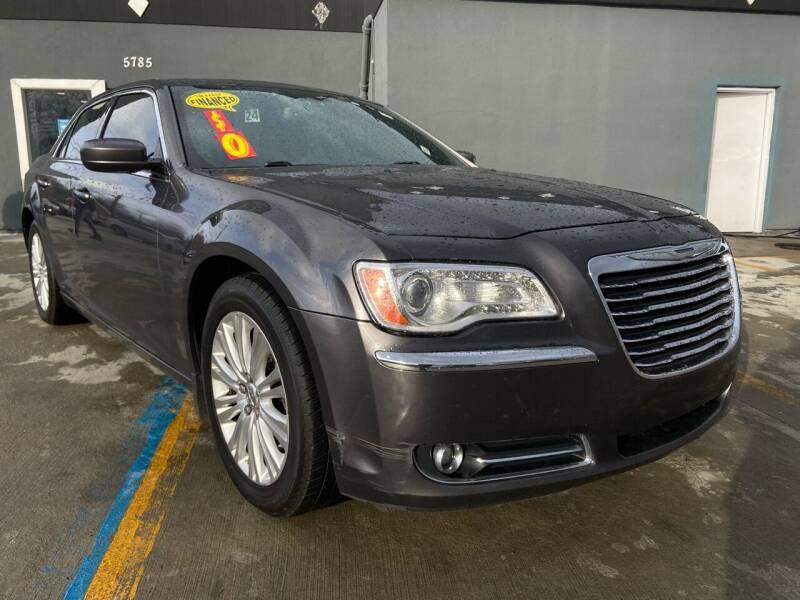 2013 Chrysler 300 for sale at NUMBER 1 CAR COMPANY in Detroit MI