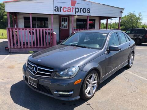 2014 Mercedes-Benz C-Class for sale at Arkansas Car Pros in Cabot AR