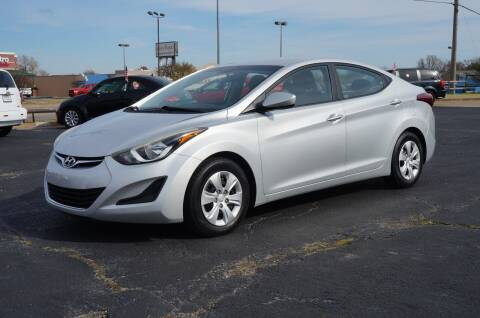 2016 Hyundai Elantra for sale at Certified Auto Center in Tulsa OK