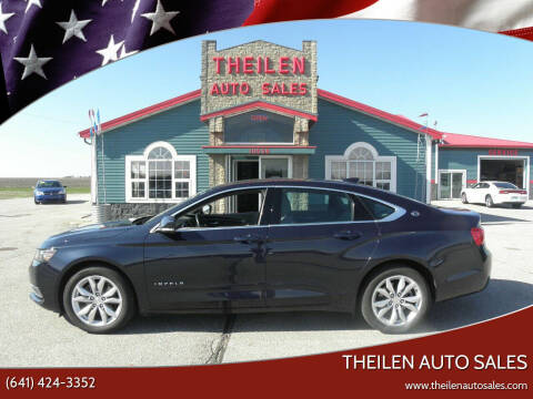 2017 Chevrolet Impala for sale at THEILEN AUTO SALES in Clear Lake IA