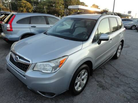 2014 Subaru Forester for sale at HAPPY TRAILS AUTO SALES LLC in Taylors SC