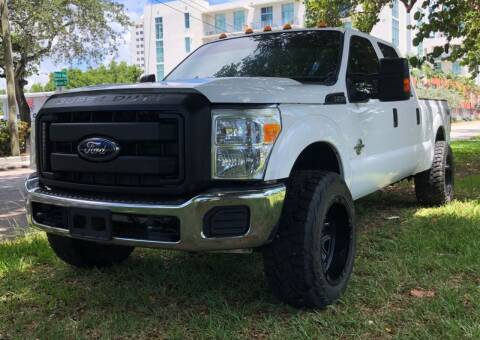 2015 Ford F-250 Super Duty for sale at Meru Motors in Hollywood FL