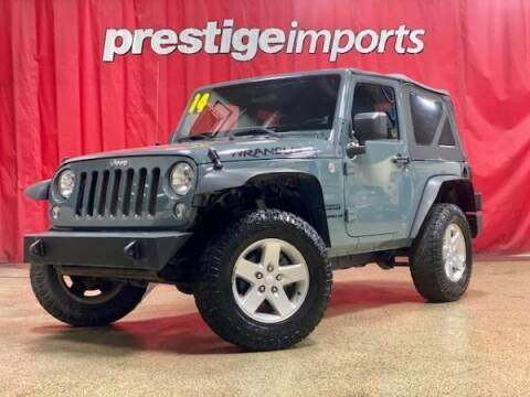 2014 Jeep Wrangler for sale at Prestige Imports in St Charles IL