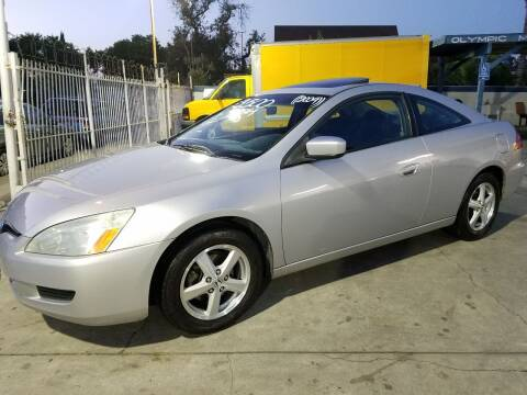 2004 Honda Accord for sale at Olympic Motors in Los Angeles CA
