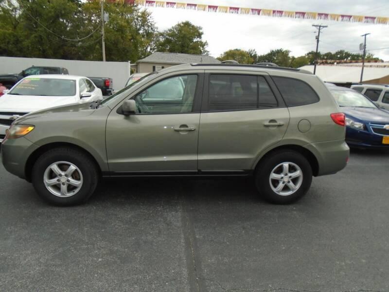 2007 Hyundai Santa Fe for sale at River City Auto Sales in Cottage Hills IL