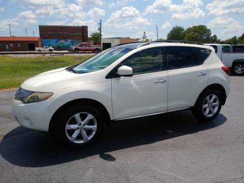 2009 Nissan Murano for sale at Big Boys Auto Sales in Russellville KY