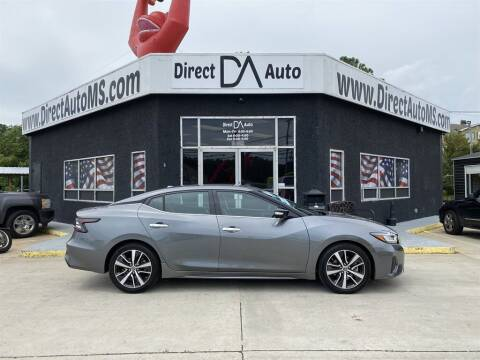 2019 Nissan Maxima for sale at Direct Auto in D'Iberville MS
