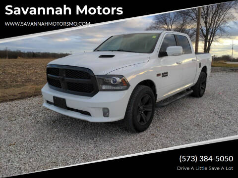 2017 RAM Ram Pickup 1500 for sale at Savannah Motors in Elsberry MO