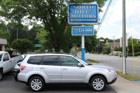 2011 Subaru Forester for sale at North Hills Motors in Raleigh NC