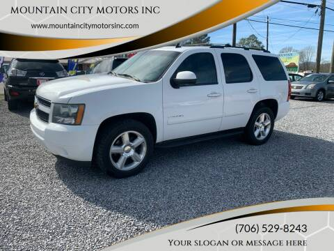 2008 Chevrolet Tahoe for sale at MOUNTAIN CITY MOTORS INC in Dalton GA