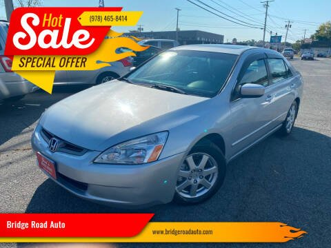 2005 Honda Accord for sale at Bridge Road Auto in Salisbury MA