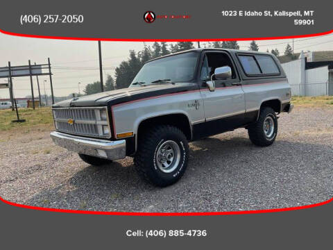 1982 Chevrolet Blazer for sale at Auto Solutions in Kalispell MT