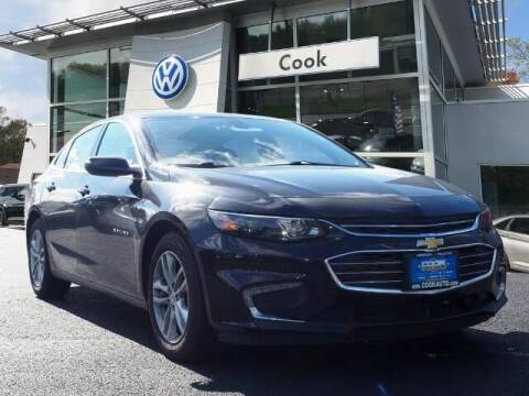 2016 Chevrolet Malibu for sale at Ron's Automotive in Manchester MD