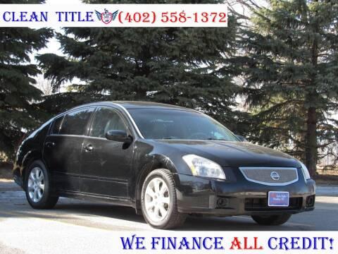 2007 Nissan Maxima for sale at NY AUTO SALES in Omaha NE