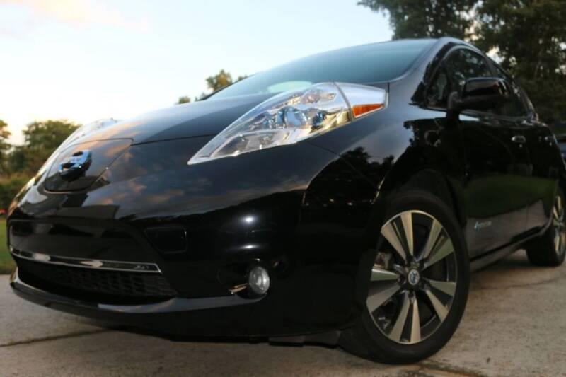 2014 Nissan LEAF for sale at Evolve Autos, LLC in Lawrenceville GA