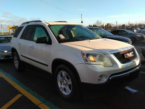 2009 GMC Acadia for sale at MOUNT EDEN MOTORS INC in Bronx NY