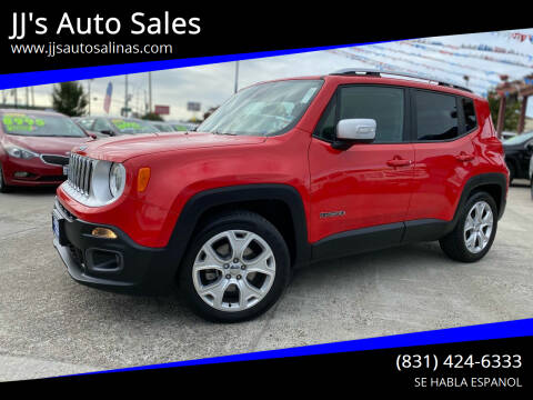 2017 Jeep Renegade for sale at JJ's Auto Sales in Salinas CA