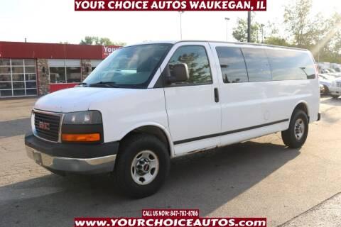 2008 GMC Savana Passenger for sale at Your Choice Autos - Waukegan in Waukegan IL