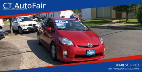 2010 Toyota Prius for sale at CT AutoFair in West Hartford CT