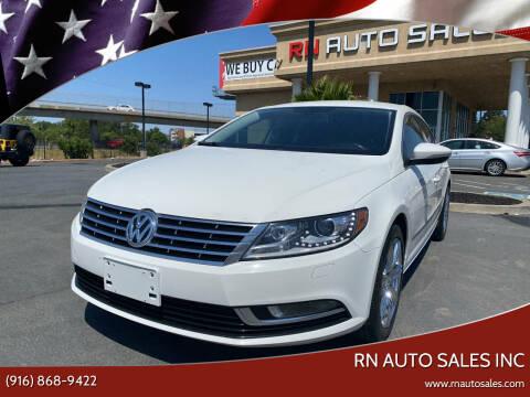 2014 Volkswagen CC for sale at RN Auto Sales Inc in Sacramento CA