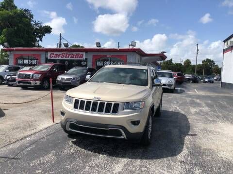 2014 Jeep Grand Cherokee for sale at CARSTRADA in Hollywood FL