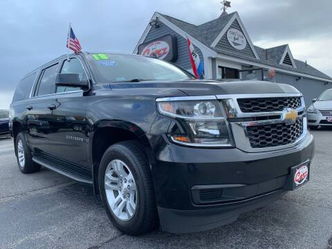 2018 Chevrolet Suburban for sale at Cape Cod Carz in Hyannis MA