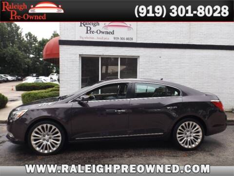 2014 Buick LaCrosse for sale at Raleigh Pre-Owned in Raleigh NC