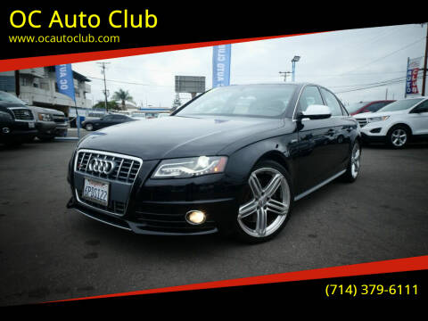 2011 Audi S4 for sale at OC Auto Club in Midway City CA