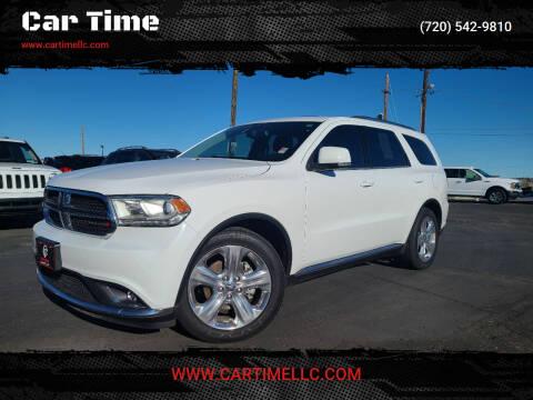 2014 Dodge Durango for sale at Car Time in Denver CO