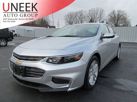2018 Chevrolet Malibu for sale at Uneek Auto Group LLC in Burton MI