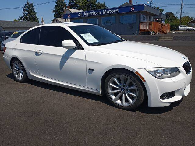 2012 BMW 3 Series for sale at All American Motors in Tacoma WA