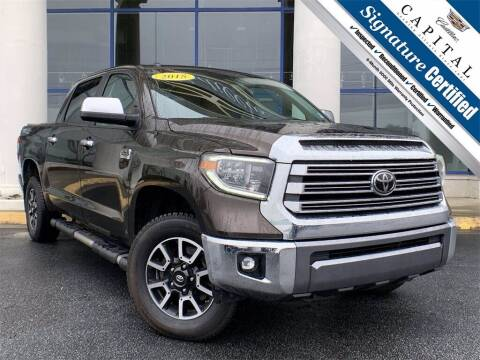 2018 Toyota Tundra for sale at Southern Auto Solutions - Capital Cadillac in Marietta GA