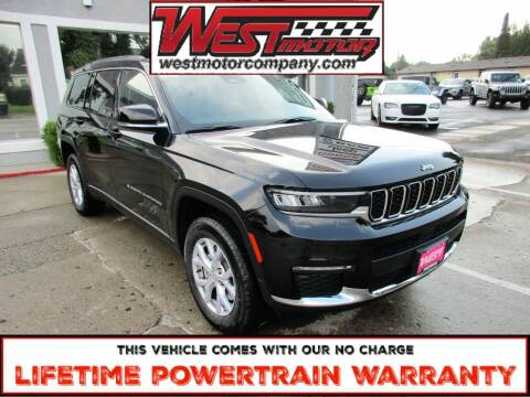 2021 Jeep Grand Cherokee L for sale at West Motor Company in Preston ID