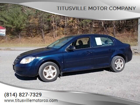 2008 Chevrolet Cobalt for sale at Titusville Motor Company in Titusville PA