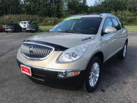 2012 Buick Enclave for sale at FUSION AUTO SALES in Spencerport NY