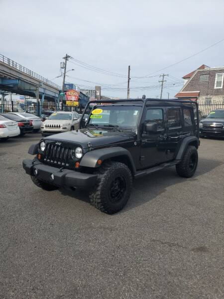 2013 Jeep Wrangler Unlimited for sale at Key and V Auto Sales in Philadelphia PA