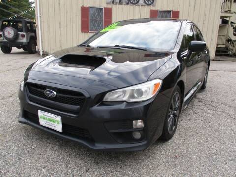 2015 Subaru WRX for sale at Roland's Motor Sales in Alfred ME