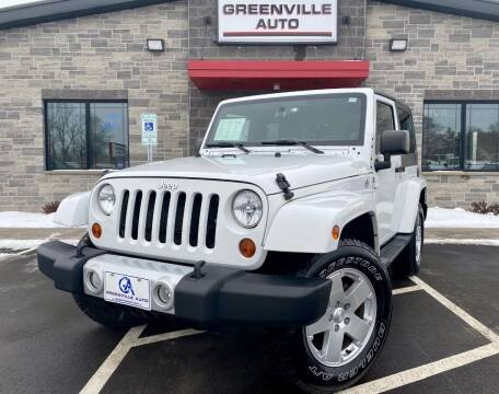 2012 Jeep Wrangler for sale at GREENVILLE AUTO in Greenville WI