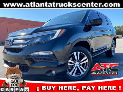 2016 Honda Pilot for sale at ATLANTA TRUCK CENTER LLC in Brookhaven GA