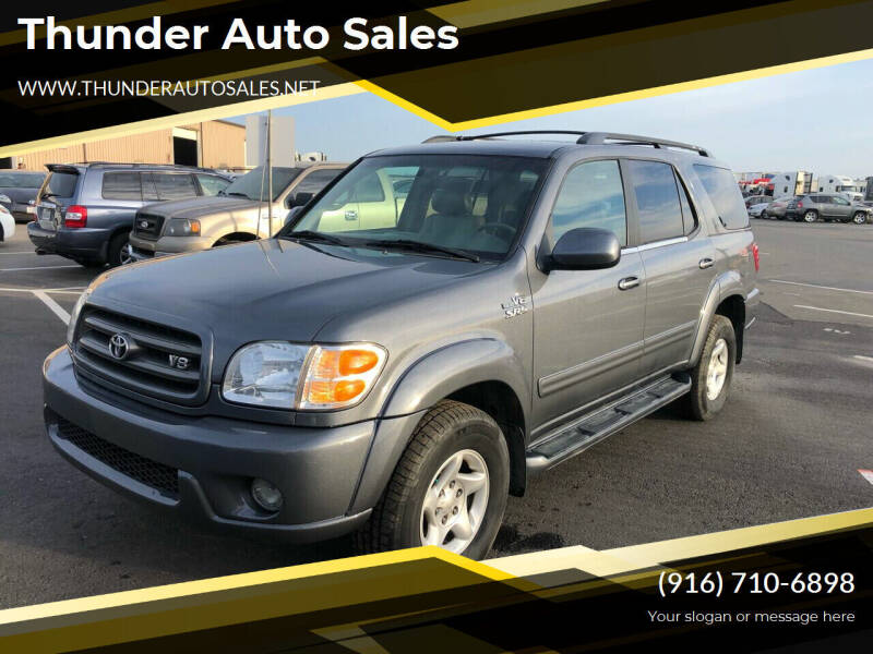 2002 Toyota Sequoia for sale at Thunder Auto Sales in Sacramento CA