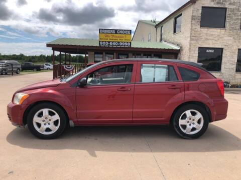 2009 Dodge Caliber for sale at Driver's Choice in Sherman TX