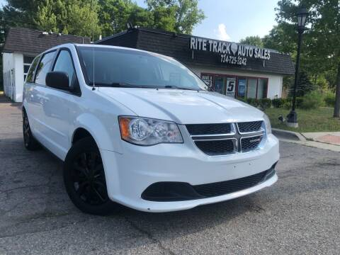 2015 Dodge Grand Caravan for sale at Rite Track Auto Sales in Canton MI