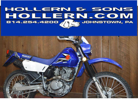 2006 Suzuki DR200SE for sale at Hollern & Sons Auto Sales in Johnstown PA