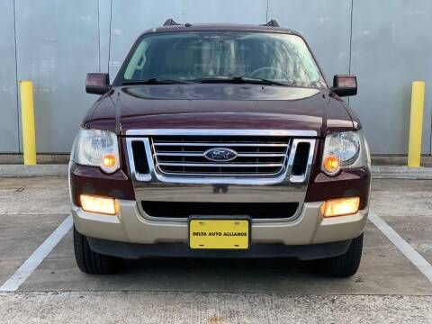 2007 Ford Explorer for sale at Delta Auto Alliance in Houston TX