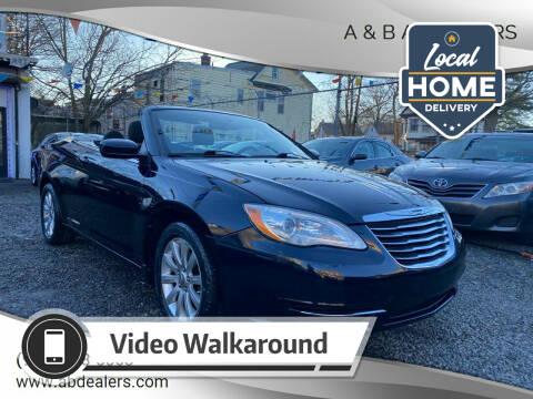 2011 Chrysler 200 Convertible for sale at A & B Auto Cars in Newark NJ