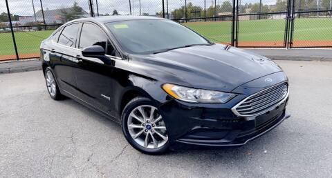 2017 Ford Fusion Hybrid for sale at Maxima Auto Sales in Malden MA
