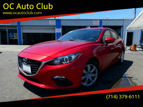 2015 Mazda MAZDA3 for sale at OC Auto Club in Midway City CA