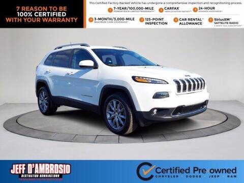 2017 Jeep Cherokee for sale at Jeff D'Ambrosio Auto Group in Downingtown PA